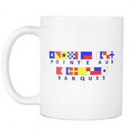 Pointe Aux Barques Nautical Coffee Mug