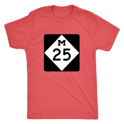 M-25 Shoreline Drive Men's Tshirt
