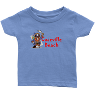 Kids Pirate Caseville Beach T-Shirts $15