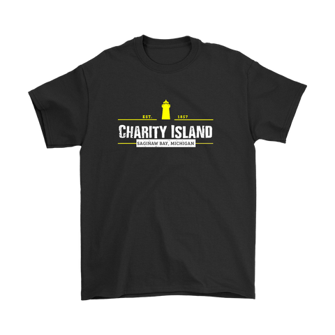 Charity Island Black Tshirt