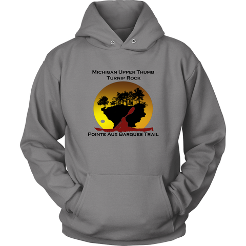 Turnip Rock - Pointe Aux Barques Trail Hoodie