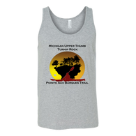 Turnip Rock - Pointe Aux Barques Trail Unisex Tank Top