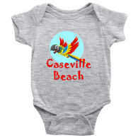 Kid's Caseville Beach Parrot Onesie and T-Shirts