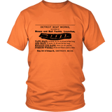 Detroit Boat Works 1895 Vintage T-Shirt