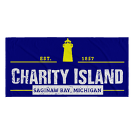 Charity Island Michigan Beach Towel