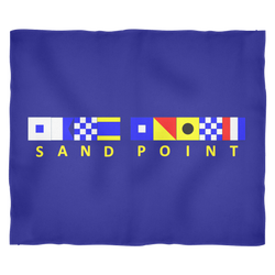 Sand Point Fleece Blanket