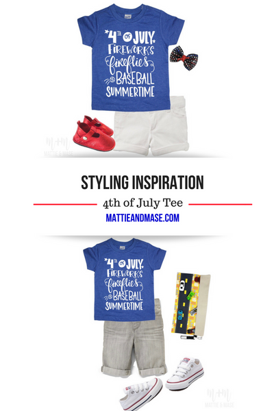 Styling Inspiration: 4th of July Tee