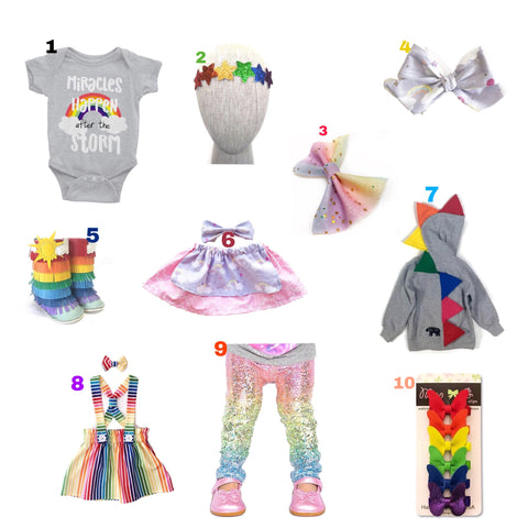 Rainbow Baby Gift Ideas