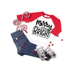 Merry and Bright Raglan