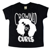 Crowned by Curls Kids Tee