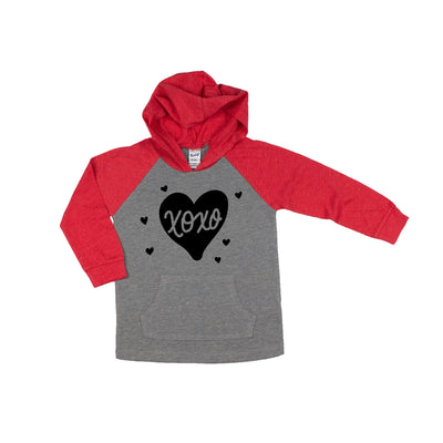 XoXo Heart Hooded Shirt