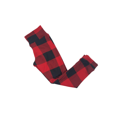 Buffalo Plaid Kids Leggings