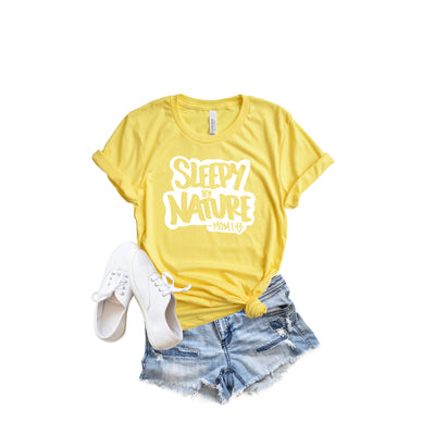 Sleepy by Nature Unisex Tee