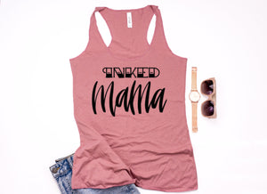 Inked Mama Racer Back Tank - Mattie and Mase