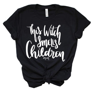 This Witch Smells Children Unisex Tee - Mattie and Mase
