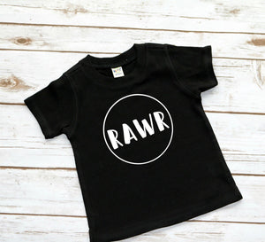Rawr Shirt for Kids - Mattie and Mase