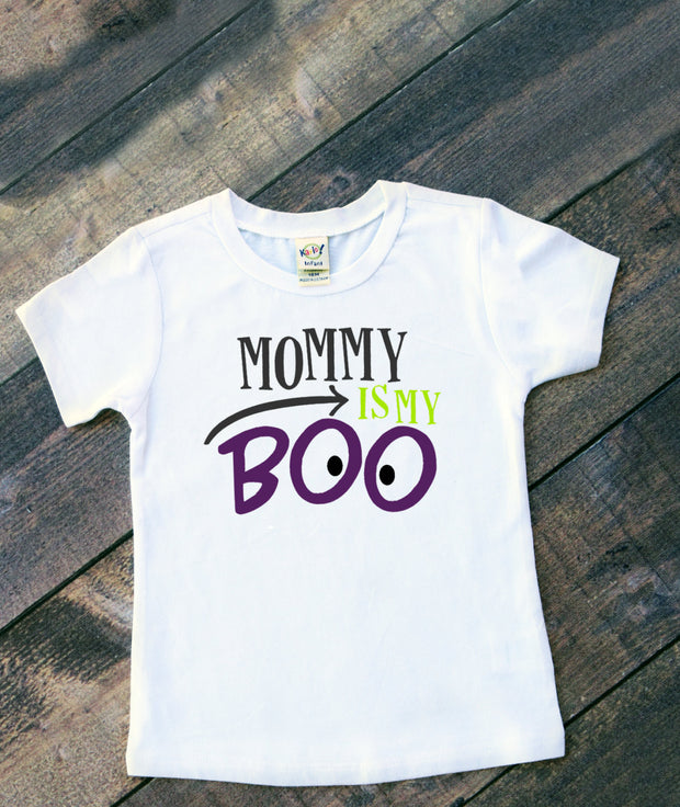 Mommy is My Boo Shirt - Mattie and Mase