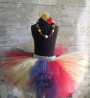 Princess Birthday Tutu and Headband - Mattie and Mase
