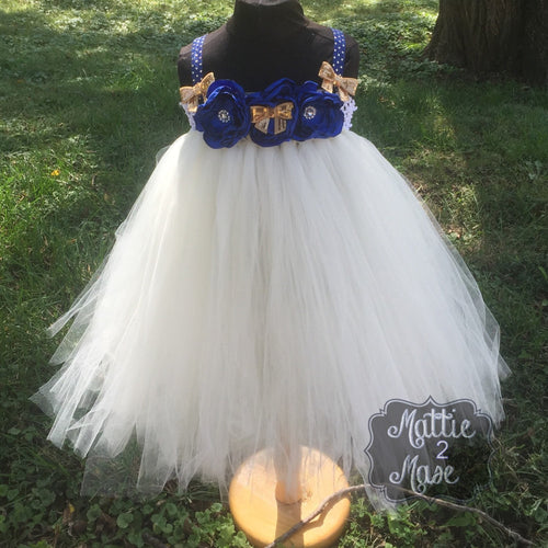 Country Rustic Empire Waist Tutu Dress