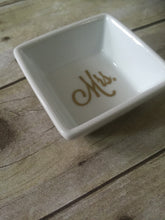 Mr and Mrs Ring Dish, Ring Dish Wedding, Ring Dish Gold, Wedding Gifts for Couple, Wedding Gifts for Bride and Groom, Wedding Ring Dish - Mattie and Mase