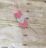 Valentine's Day Headband for Infants Babies Toddlers Little Girls - Mattie and Mase