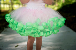 Ribbon Trimmed Tutu for Baby Girl - Mattie and Mase