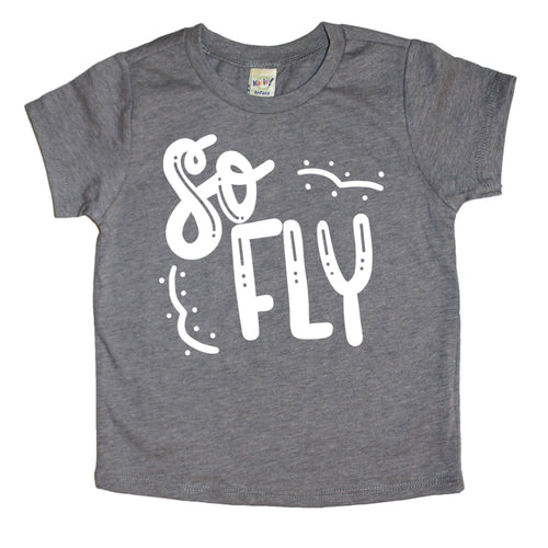 So Fly Kids Tee - Mattie and Mase