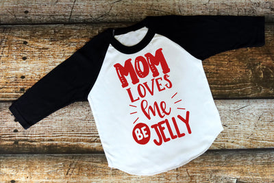 Mom Loves Me Raglan - Mattie and Mase