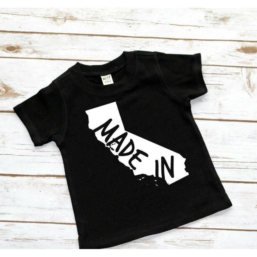 Made In Tee Shirt - Mattie and Mase