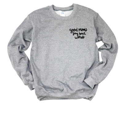 Good Moms Pocket Design Unisex Pullover