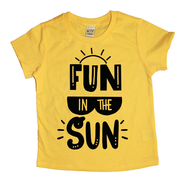 Fun in the Sun Tee - Mattie and Mase