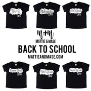 Second Grade Crew Kids Tee