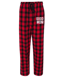 Good Mom Flannel Unisex Pants