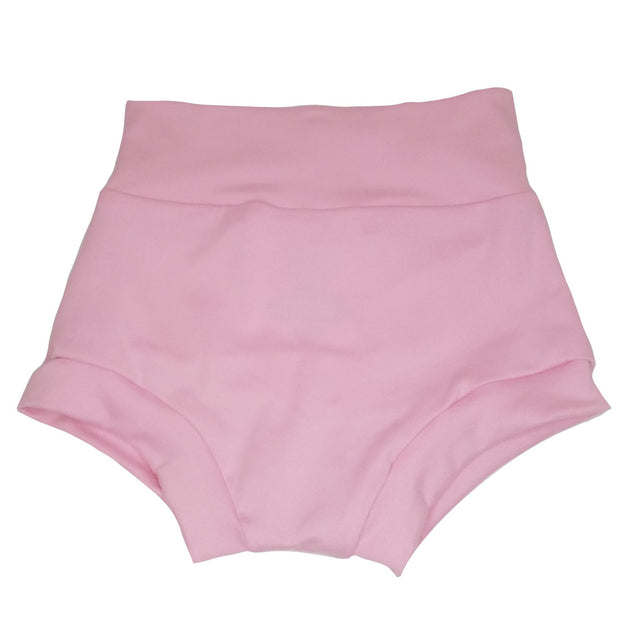 High waisted soft pink bummie made from soft material