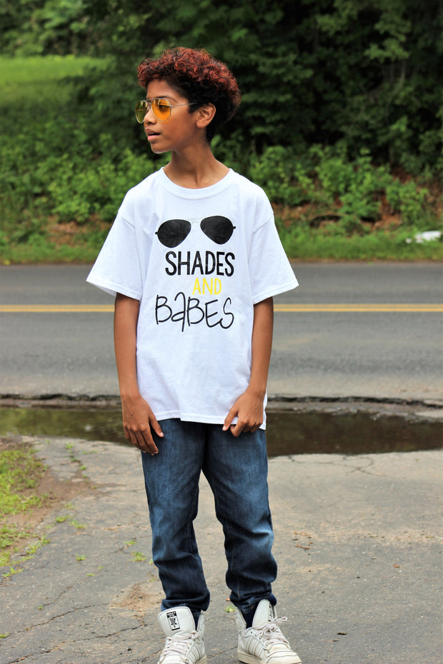 Shades and Babes Shirt - Mattie and Mase