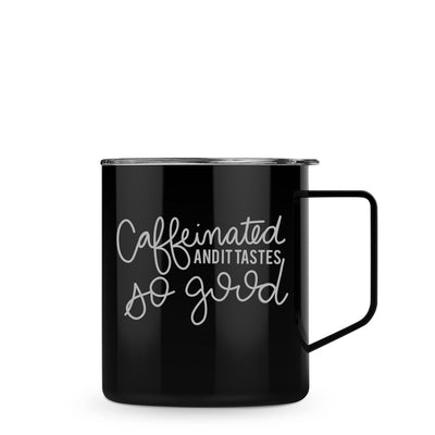 Caffeinated 14 oz Townie Mug