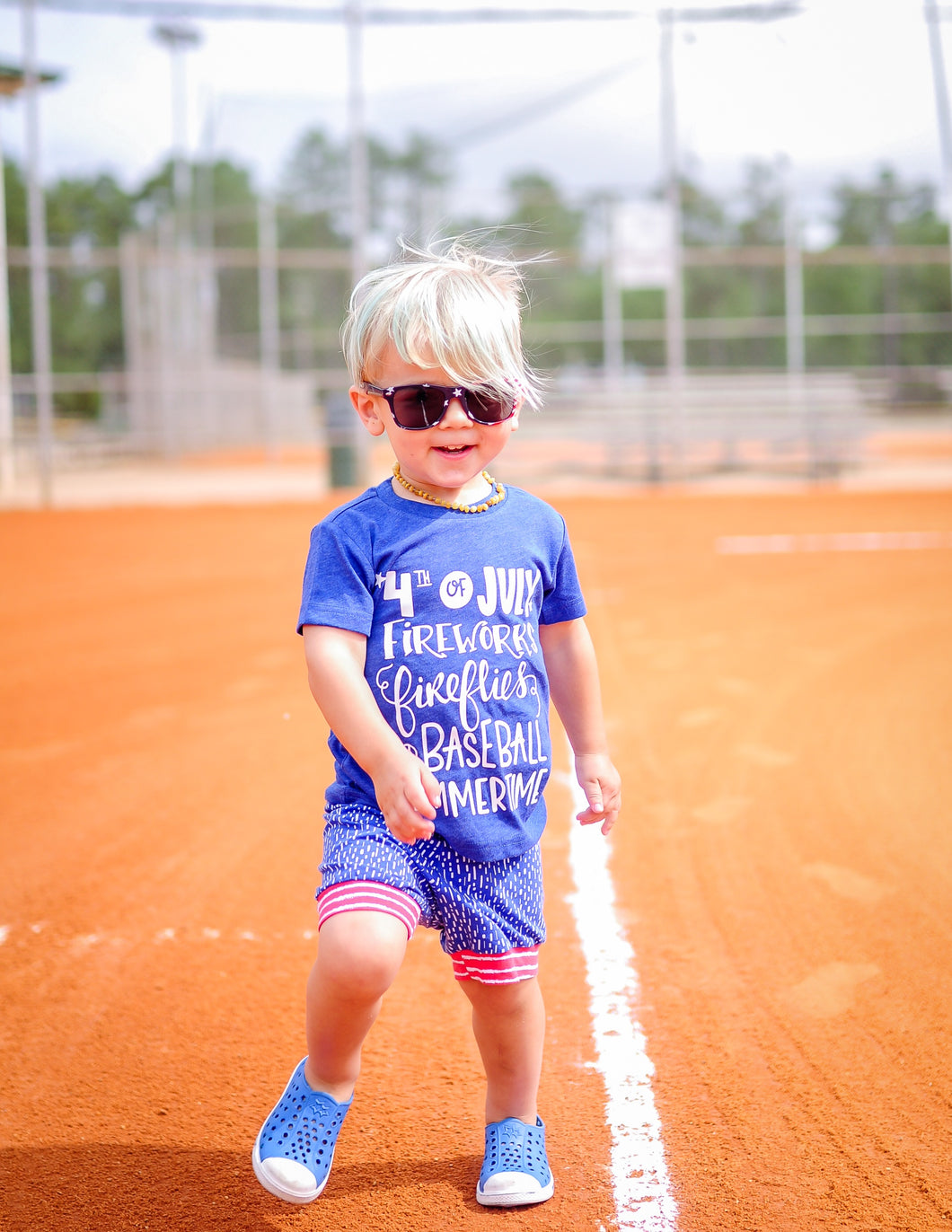 4th of July Summer Tee For Kids - Mattie and Mase