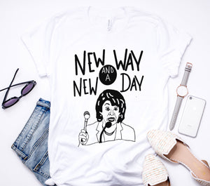 New Day New Way Unisex Tee