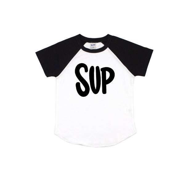 Sup Short Sleeve Kids Raglan