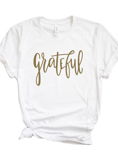 Ready to Ship Unisex Grateful Tee