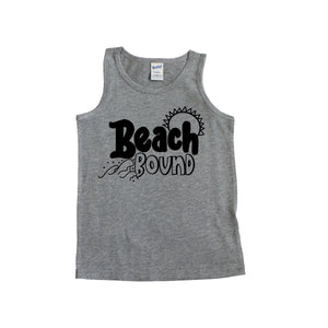 Beach Bound Kids Tank