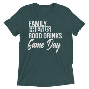 Family Friends Game Day Short sleeve t-shirt - Mattie and Mase