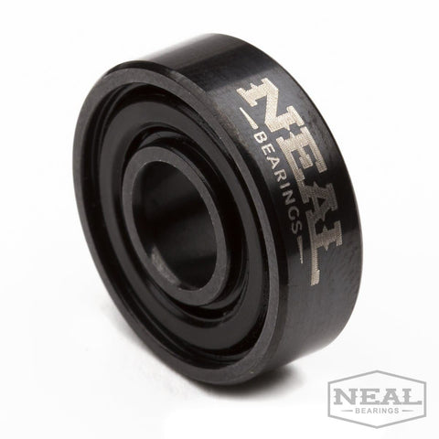 NEAL - Blackout Ceramic - NEAL BEARINGS, Sports - Best Skateboard Bearings, NEAL BEARINGS - NEAL BEARINGS, NEAL BEARINGS - NEALBEARINGS.com