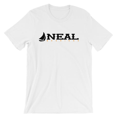 Neal Nautical T-Shirt (Black) - NEAL BEARINGS,  - Best Skateboard Bearings, NEAL BEARINGS - NEAL BEARINGS, NEAL BEARINGS - NEALBEARINGS.com