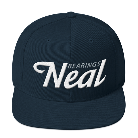 Neal 'Finisher' Snapback Hat - NEAL BEARINGS,  - Best Skateboard Bearings, NEAL BEARINGS - NEAL BEARINGS, NEAL BEARINGS - NEALBEARINGS.com