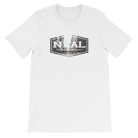 Neal City Logo T-Shirt - NEAL BEARINGS,  - Best Skateboard Bearings, NEAL BEARINGS - NEAL BEARINGS, NEAL BEARINGS - NEALBEARINGS.com