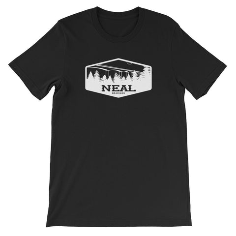 Neal Bridge T-Shirt (Black) - NEAL BEARINGS,  - Best Skateboard Bearings, NEAL BEARINGS - NEAL BEARINGS, NEAL BEARINGS - NEALBEARINGS.com