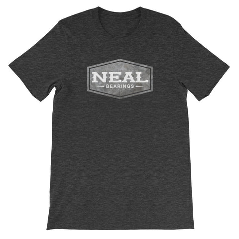Neal Concrete Logo T-Shirt - NEAL BEARINGS,  - Best Skateboard Bearings, NEAL BEARINGS - NEAL BEARINGS, NEAL BEARINGS - NEALBEARINGS.com