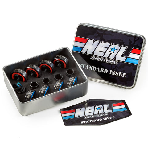 NEAL - Standard Camo Ceramic - NEAL BEARINGS,  - Best Skateboard Bearings, NEAL BEARINGS - NEAL BEARINGS, NEAL BEARINGS - NEALBEARINGS.com