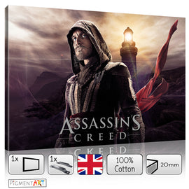 Assassin's Creed Movie 2017 - FLM0083 - canvas wall art prints uk